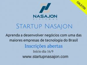 Nova edição do Startup Nasajon