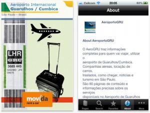 Aeroporto de Garulhos cria app para viajantes verificarem status do voo