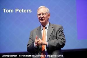 Tom Peters: foco deve ser nos funcionários
