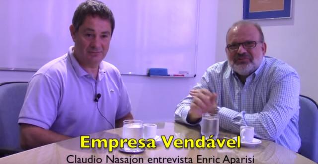 Video da entrevista com Enric Aparisi, que vendeu a empresa para velejar pelo mundo