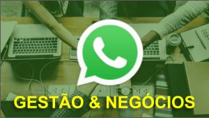 Grupo de gestão e negócios no whatsapp